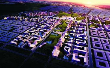 长沙航空城临空经济区城市设计