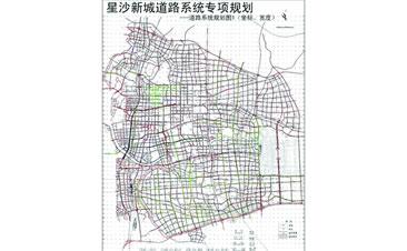 星沙新城道路系统专项规划