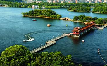 湖南省烈士公园风雨长廊
