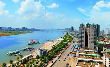 长沙市湘江风光带(北段)