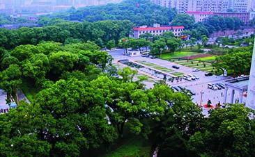 湖南宾馆前院景观改造