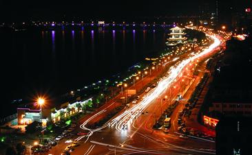 湘江两岸夜景