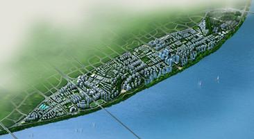 长沙滨江新城概念性城市设计