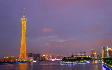 广州新电视塔夜景