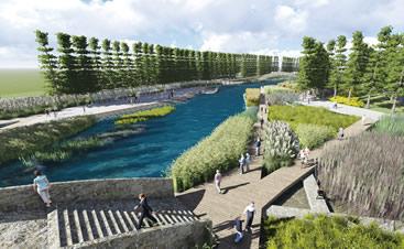 海绵城市-桐溪港水系工程